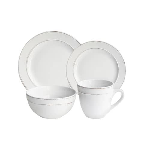 Olivia 16 Piece Dinnerware Set (Service for 4)