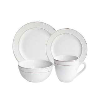 Olivia 16 Piece Dinnerware Set (Service for 4)