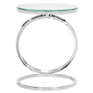 Safavieh Couture High Line Collection Dana Stainless Steel Metal End Table