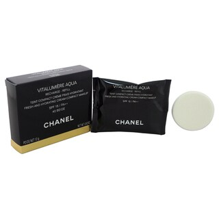 Chanel Vitalumiere Aqua Fresh and Hydrating Cream Compact Makeup Refill SPF15# 40 Beige