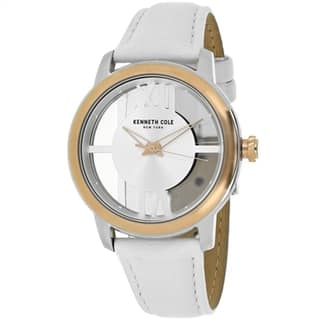 Kenneth Cole Transparency 10024374 Women's Silver Dial Watch|https://ak1.ostkcdn.com/images/products/14341816/P20919104.jpg?impolicy=medium