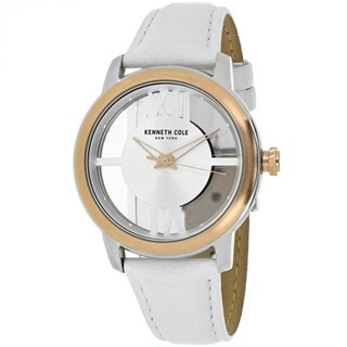Kenneth Cole Transparency 10024374 Women's Silver Dial Watch