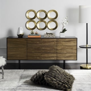 Safavieh Couture High Line Collection Mid-Century Jonna Wood TV Console