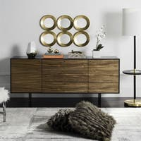 Safavieh Couture High Line Collection Jonna Mid-Century Wood TV Console