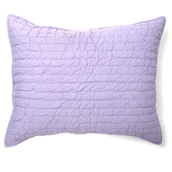 Brighton Cotton Sham, Lavender