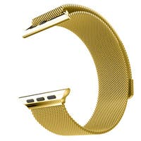 Milanese Loop for Apple Watch 38mm- Gold