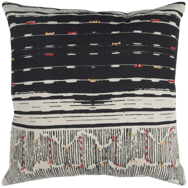 Rizzy Home Striped Cotton 22-inch Throw Pillow