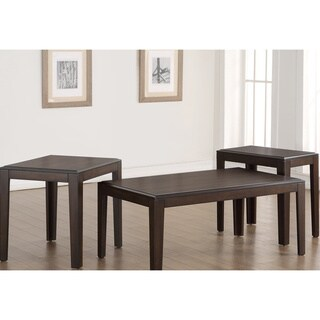 Simmons 7508-43 Wood Contemporary Tables (Set of 3)