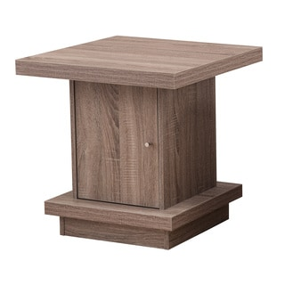 Simmons 7020-47 Driftwood Storage End Table
