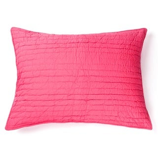 Brighton Hot Pink Cotton Sham
