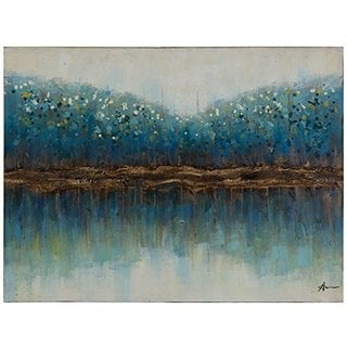 Teal Time Original Hand Painted Wall Art