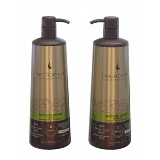 Macadamia Professional Nourishing Moisture Shampoo and Conditioner 1-liter Duo Set