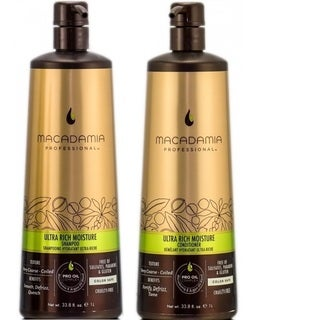 Macadamia Ultra Rich Moisture Shampoo and Conditioner 1-liter Duo Pack