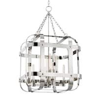 Hudson Valley Colchester 8-light Polished Nickel Pendant