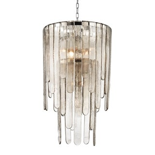 Hudson Valley Fenwater 9-light Polished Nickel Pendant