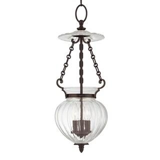 Hudson Valley Gardner 3-light 23-inch Old Bronze Pendant