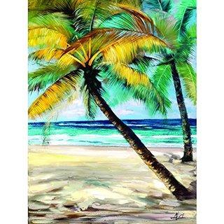 Paradise Awaits II Original Hand Painted Wall Art