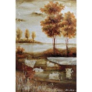 'Countryside I' Original Hand-painted Wall Art