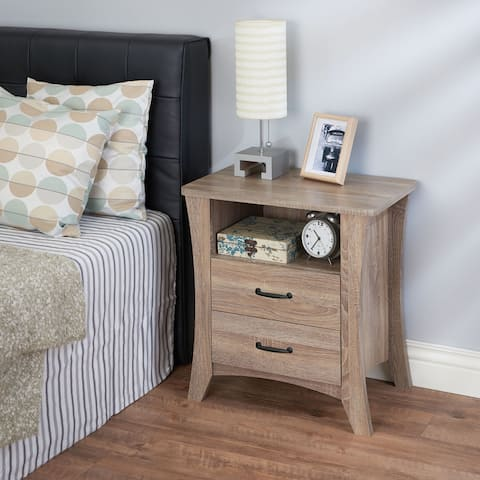 Acme Furniture Colt Rustic Natural Wood 2-drawer Nightstand