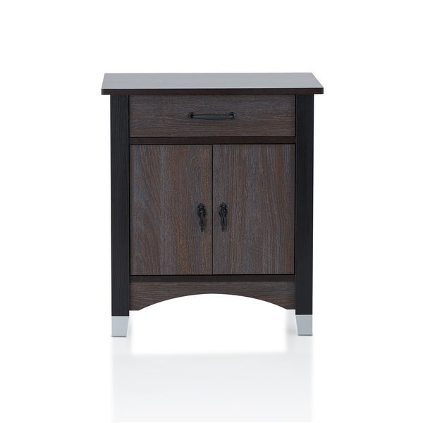 Carbon Loft Caldwell Grey Oak 1-drawer Nightstand
