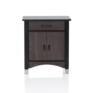Acme Furniture Calp Grey Oak 1-drawer Nightstand