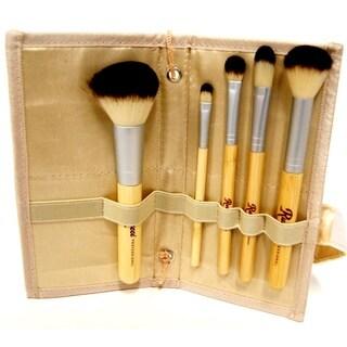 Bamboo 5-piece Cosmetic Brush Set