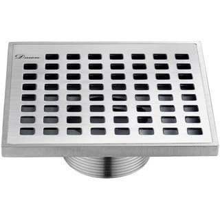 Dawn Brisbane River Series - Square Shower Drain 5 inches long (Threaded)