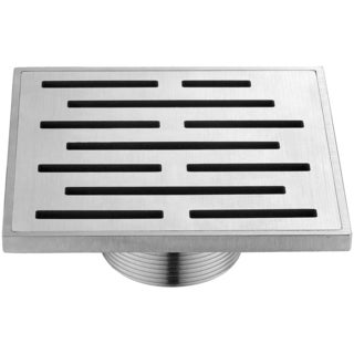Dawn Amazon River Series - Square Shower Drain 5 inches long (Threaded)