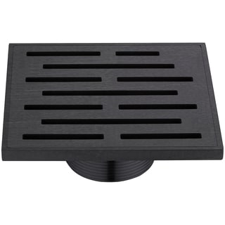 Dawn Amazon River Series - Square Shower Drain 5-inch (Threaded)