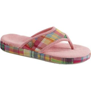 Women's Acorn Summerweight Acorn Thong Slipper Bright Madras
