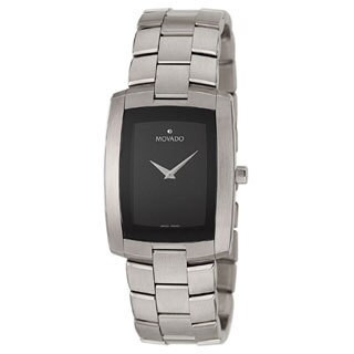 movado eliro men s black dial steel watch shipping today movado eliro men s black dial steel watch shipping today overstock com 1022056