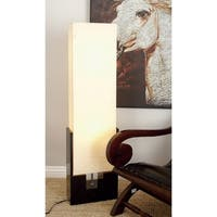 Modern 48 Inch Beige Wooden Luminaire Floor Lamp by Studio 350
