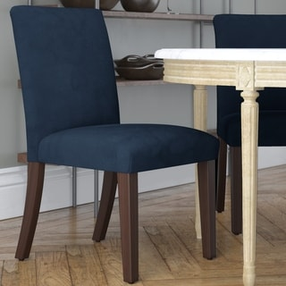 Skyline Furniture Custom Dining Chair in Microsuede