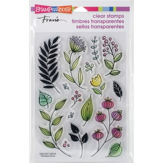 Stampendous Perfectly Clear Stamps 4X6-Fronds