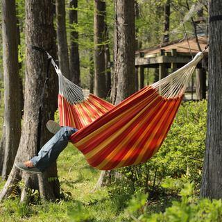 castaway double brazilian hammock cotton hammocks  u0026 porch swings for less   overstock    rh   overstock