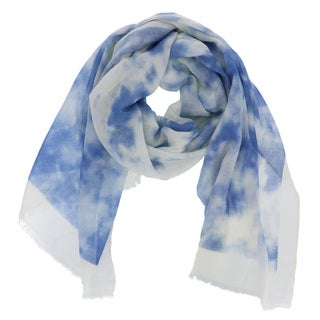 LA77 Watercolor Polyester Viscose Scarf