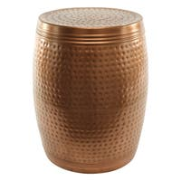 Mathers Copper Metal Stool