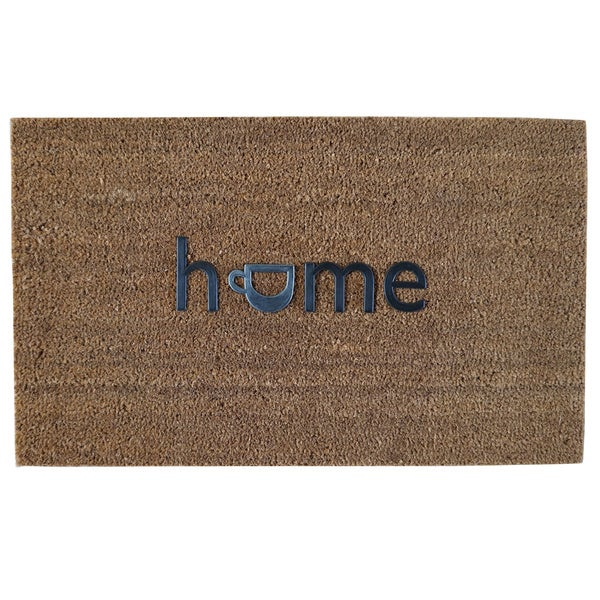 Home Fashion Designs Hadley Collection Coir Brushed Home Design Welcome Mat