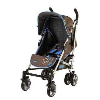Dream on Me Mia Moda Ciel Fiore Brown Stroller