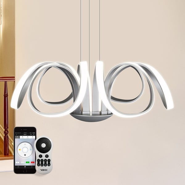Elk Lighting Nadina: Capella Flower VTC3630AL 30-inch WiFi-enabled Tunable