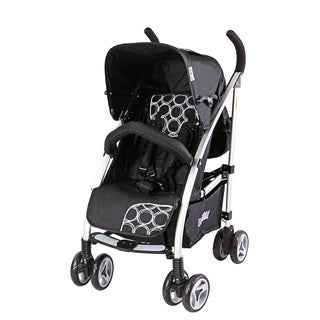 Dream On Me Mia Moda Cercle Noir Luna Bella Black Aluminum Umbrella Lifestyle Stroller