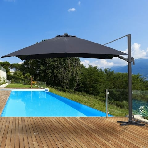 Kihei Aluminum Square Patio Umbrella by Havenside Home, Base Not Included