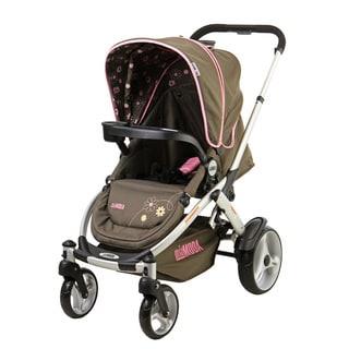 Mia Moda Atmosferra Brown Plastic Stroller