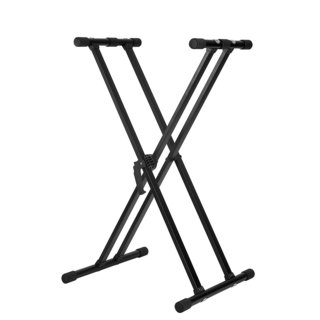 Knox Adjustable Double X Keyboard Stand