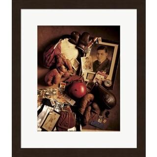 Michael Harrison 'Boxing' Framed Art