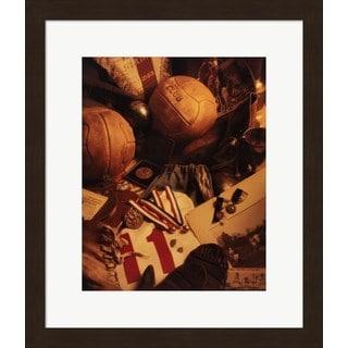 Michael Harrison 'Soccer' Framed Art