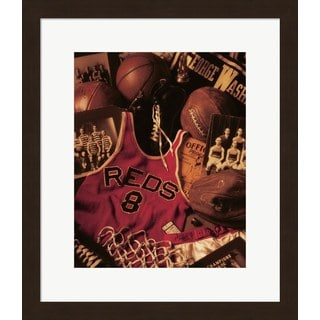 Michael Harrison 'Basketball' Framed Art