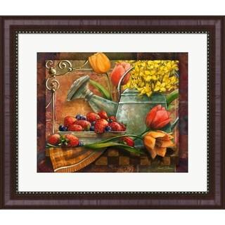 Janet Stever 'Spring Still Life' Framed Art