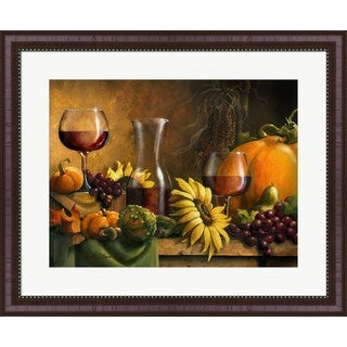 Janet Stever 'Autumn Bounty' Framed Art
