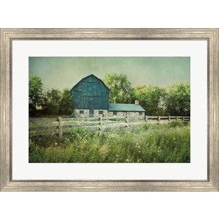 Elizabeth Urquhart 'Blissful Country III' Framed Art